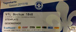 #SVDVFL Eintrittskarte 10.09.2017