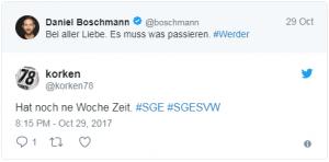 Twitter #SGESVW